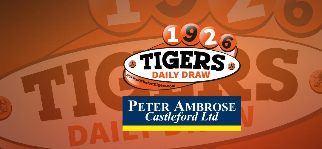 Tigers Daily Draw Winners